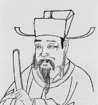 僧人头像素描