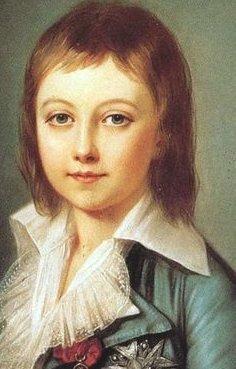 原名是路易·查理,路易十六和他的王后玛丽·安托瓦奈特的第二个儿子.