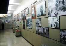 华北军区烈士陵园纪念堂展厅内