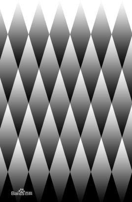 做出一种像钻石一样的立体错觉