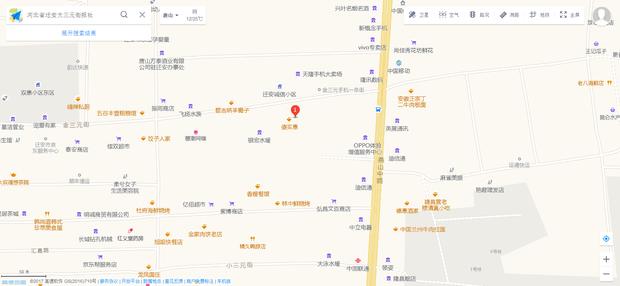 迁安黄台山风景区地图