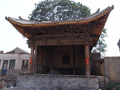 庙趐角图纸