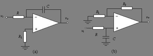 低通滤波器的基本电路特点是,只允许低于截止频率的信号通过.
