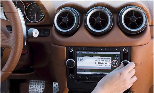 车载音响的构成: 主机:汽车音源.