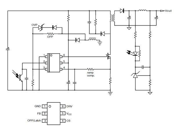 贴片电源IC上面的字符是5AARB1是什么型号?