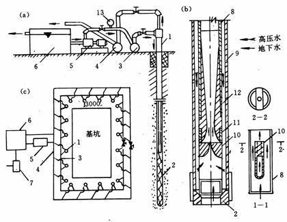 两台水泵自动抽水电路图