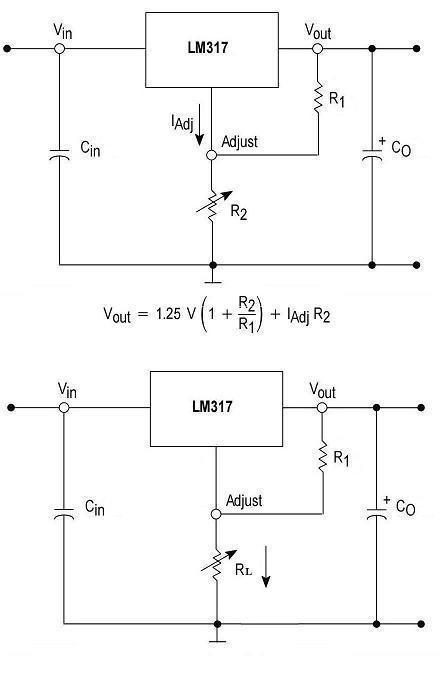 用lm317t设计一个800ma恒流源电路图 用lm317t设计一个 12v稳压电源