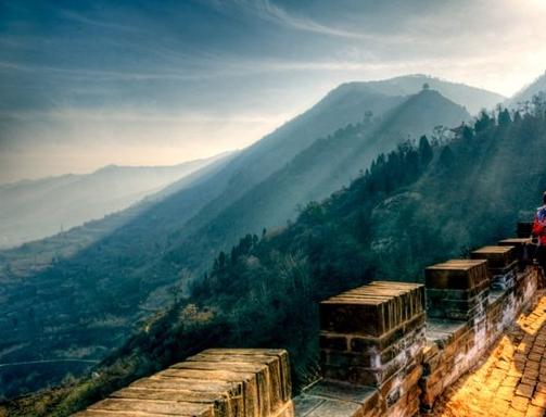 临潼骊山风景图片
