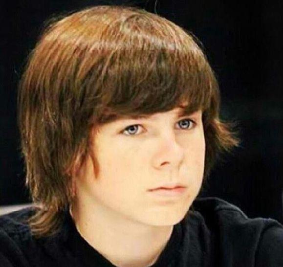 钱德勒里格斯(Chandler Riggs),1999年6月27日出生于美国乔治亚州亚特兰大,演员。 2006年出演了大银幕处女作《Jesus H. Zombie》。2010年在AMC连续剧《行尸走肉》里饰演男主角的儿子卡尔格里姆斯。2014年获得青年艺人大奖喜剧或剧情类连续剧最佳年轻男主角奖和土星奖连续剧最佳年轻演员奖。同年和迪伦麦克德莫特一起主演了恐怖电影《慈悲》。2016年,出演美剧《行尸走肉第七季》。