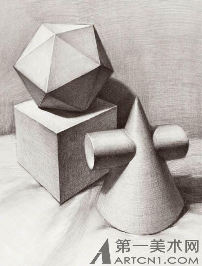 单个石膏几何形体