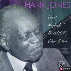live at maybeck recital hall, vol. 16