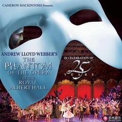 the phantom of the opera at the royal albert hall(celebration of 25 years)
