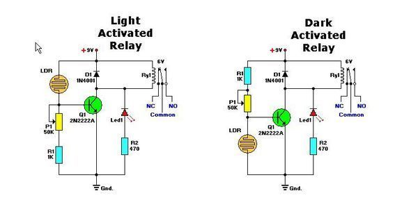 用光敏二极管和三极管怎样制作光控开关,求电路图