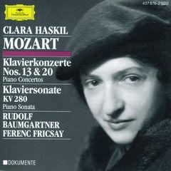 mozart: piano concertos nos.13 & 20; piano sonata k.280