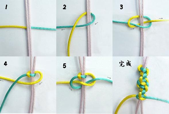 怎么用红绳编手链
