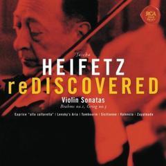 heifetz rediscovered - grieg: sonata no. 3 in c minor, op. 45, brahms: sonata no. 1 in g, op. 78