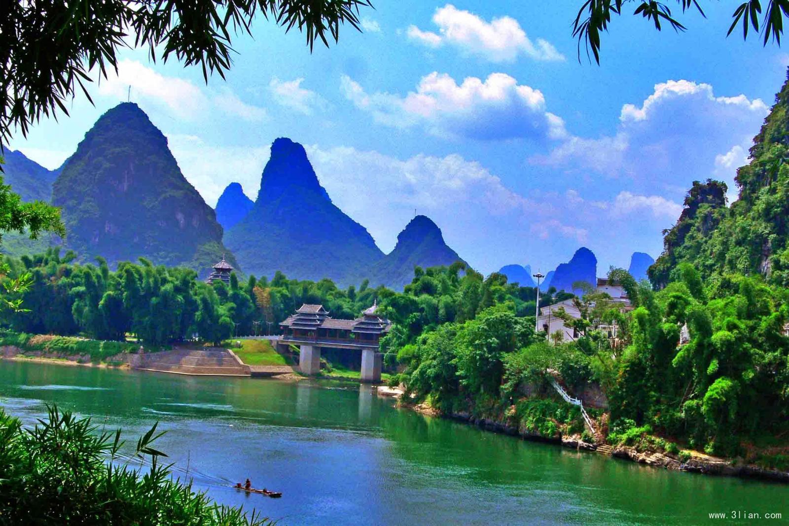 壁纸 风景 山水 桌面 1600_1068