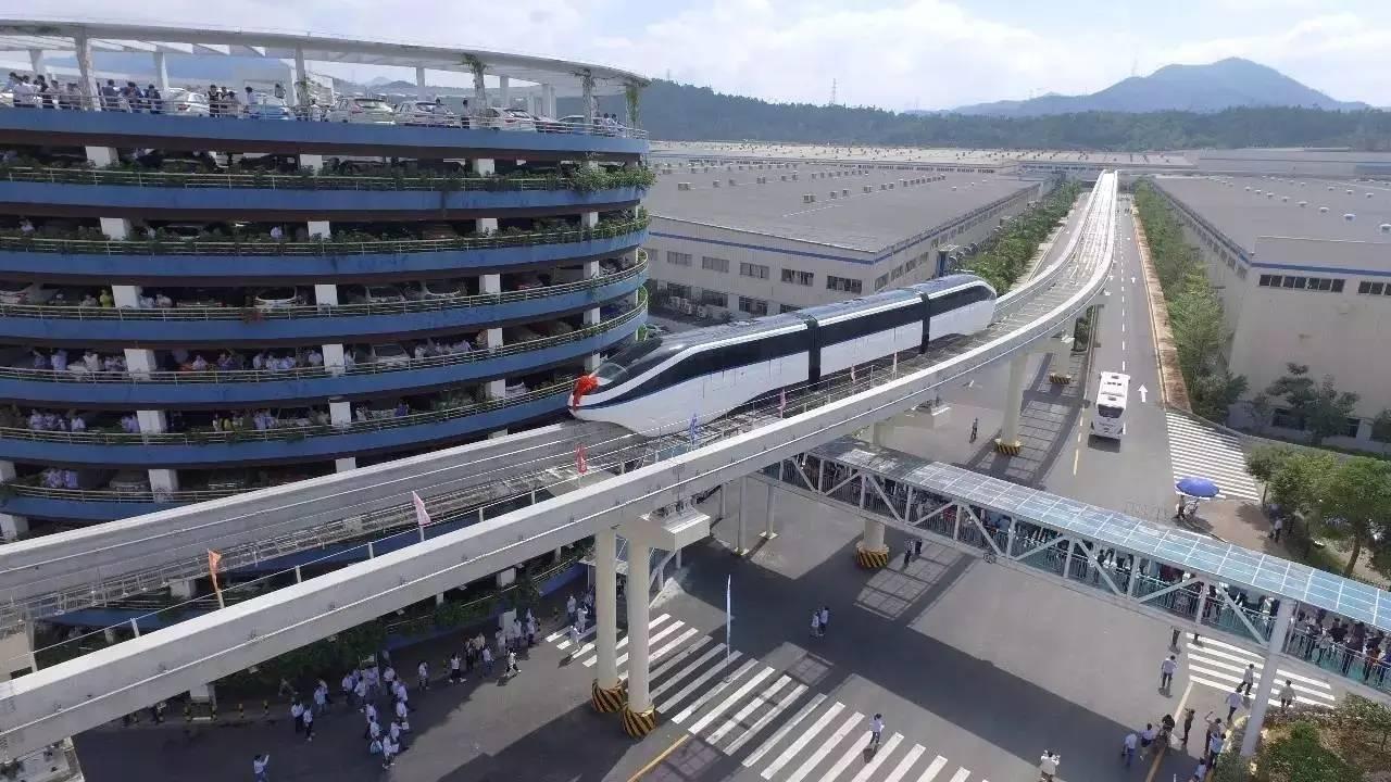 """王传福说""""云轨""""会是城市的未来,重庆人表示习以为常   每日锋评"""